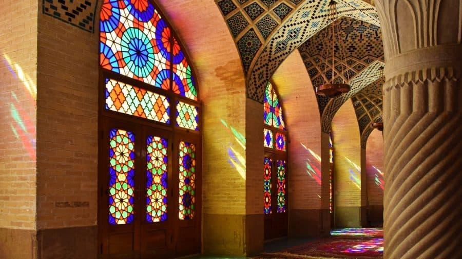Shiraz, Nasir-Olmolk-Moschee